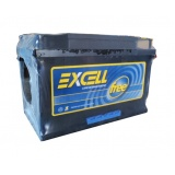 bateria excell 60 amperes Jardim Nelly